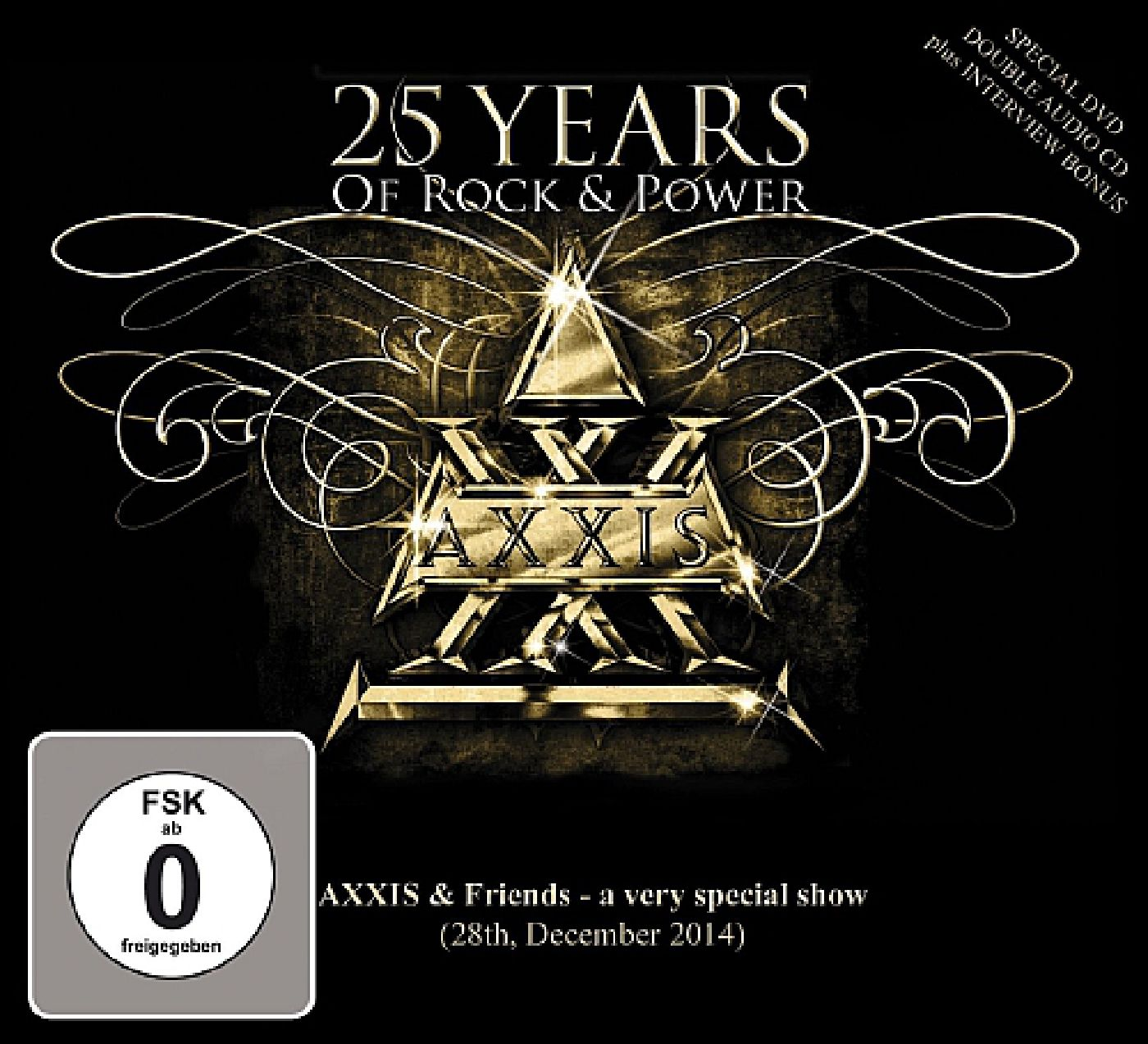 AXXIS DVD 25 Years of Rock & Power
