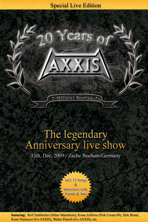 AXXIS DVD 20 years anniversary