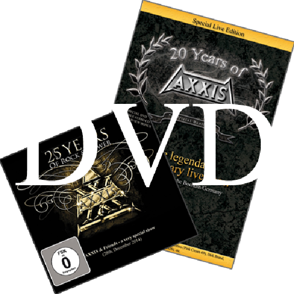 AXXIS DVDs