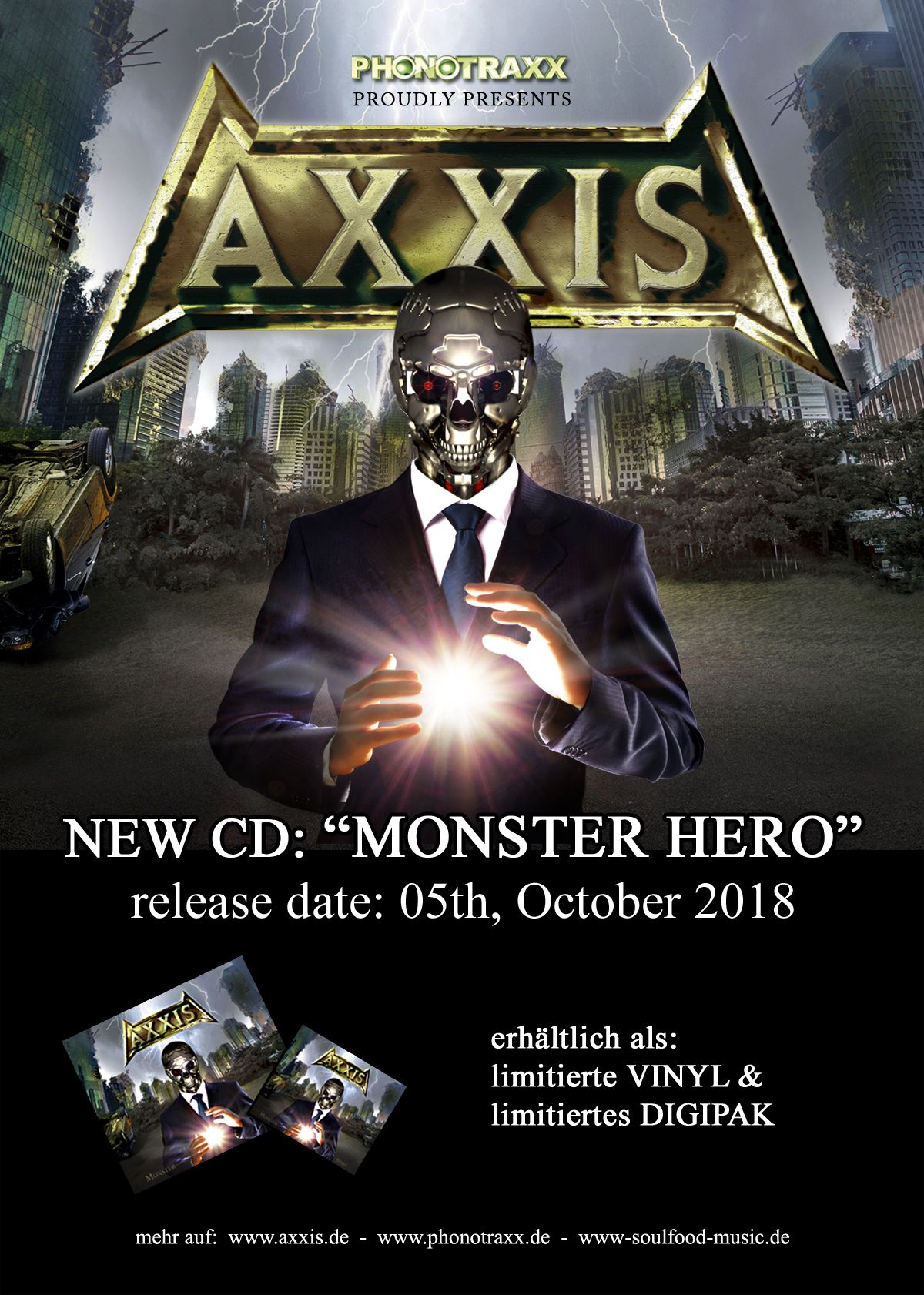 AXXIS MONSTER HERO