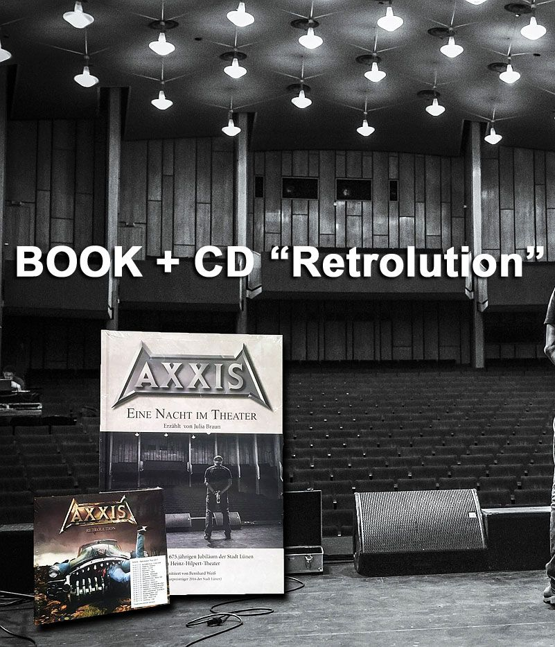 AXXIS retrolution new album